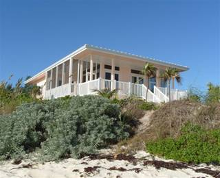 View of house from the beach.
